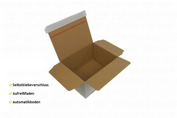 recyclable cardboard parcels with tear band for easy opening